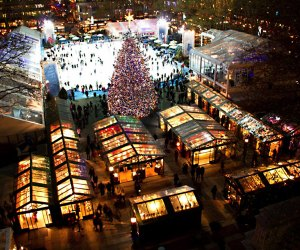 Bryant Park's popular winter village returns with some important changes from seasons past (pictured above) to ensure guest safety.