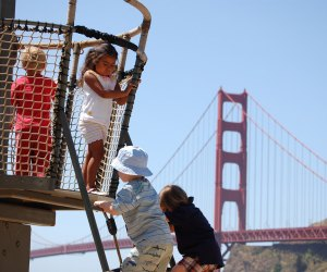 Explore the Bay Area Discovery Museum (and playground) in San Francisco. Photo courtesy of the museum