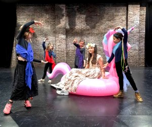 Kids will perform a Shakespearean comedy at Bay Street Theater's spring camp.