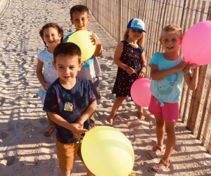 Get ready for beach treasure hunts this summer in Lavallette. Photo courtesy of Enjoy Lavallette