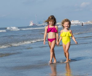 Beach in Galveston