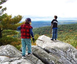 Climb Monument Mountain for panoramic views of the Berkshires. Photo courtesy of Massachusetts Office of Travel & Tourism