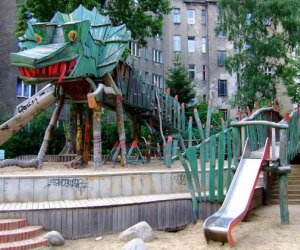 Have the kids explore a playground like no other in Berlin's Friedrichshain neighborhood.