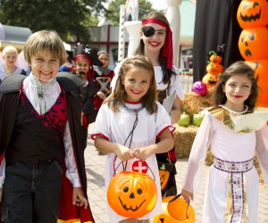 Six Flags Fright Fest offers plenty of kid-friendly fun during the daylight hours. Photo courtesy of Six Flags