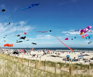 Beach season may end come Labor Day, but September brings tons of fun Shore events like the annual Kites at the Pier Festival in Long Branch. Photo by Kaylynn Chiarello Ebner