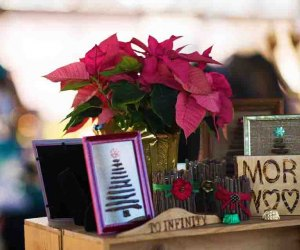 Find handmade trinkets at the Holiday Market at Bethel Woods. Photo courtesy of Bethel Woods Center for the Arts