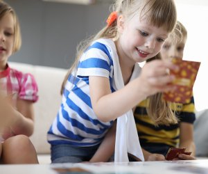 Playing card games is not only fun, social, and educational; it gets kids off screens!
