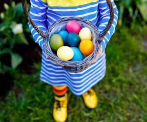 Grab those baskets, because it's time for an Easter egg hunt!