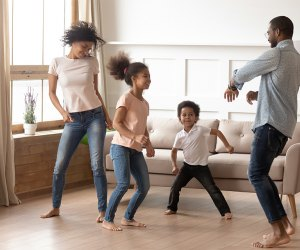 Families can get their groove on with these easy TikTok dances.