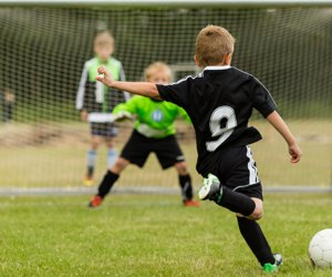 Sports classes for kids teach perseverance, skill, and teamwork.