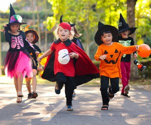 Grab your little ghoul or goblin for a night of Halloween fun in Atlanta. Photo by Mommy Poppins
