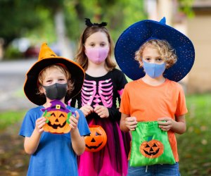 Don't forget to mask up this year to brave the trick-or-treating crowds!