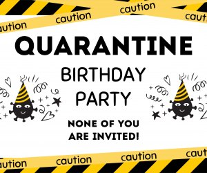 First Birthday Party Ideas for Quarantine Babies: It all starts with the invitation