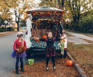 Try trunk or treat events in Chicago this Halloween. Photo courtesy of Bigstock.