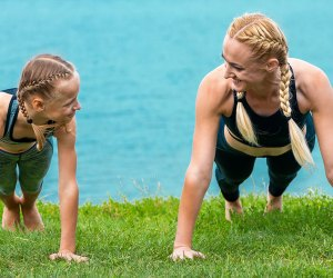 These games make exercise feel like fun rather than work!