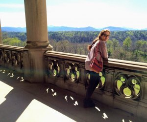 The Biltmore Estate offers amazing views and beautiful grounds.