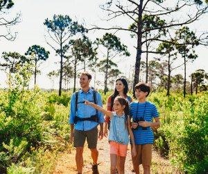 Start the new year off with some screen-free outdoor time. Photo courtesy of Florida State Parks