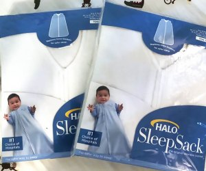 ACS is distributing free wearable baby blankets at each of its 16 city locations.