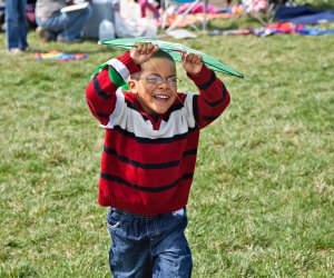 Watch your creation take flight at the Blossom Kite Festival. Photo courtesy of Greater Washington National Parks