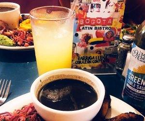 Enjoy a Latin-inspired spread at family-friendly restaurant Bogota