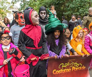 Show off your costume at the Costume Parade at The Bronx Zoo's Boo at the Zoo. Photo by Julie Larsen Maher for WCS