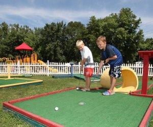 Family Campgrounds near Boston with Extras for Kids: Boston KOA