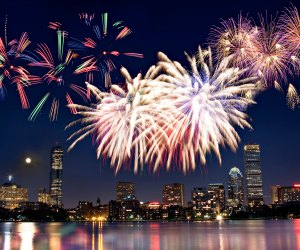 Watch the sky light up in Boston. Photo courtesy of Greater Boston Convention & Visitors Bureau