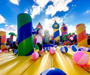 The Big Bounce America lands in Brooklyn this September.