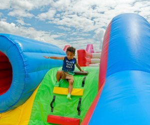 The jiggle is up at the World's Biggest Bounce House. Photo courtesy Big Bounce