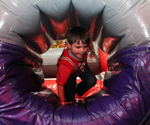 Bounce U hosts open bounce as well as birthday parties. Photo by Meagan Newhart