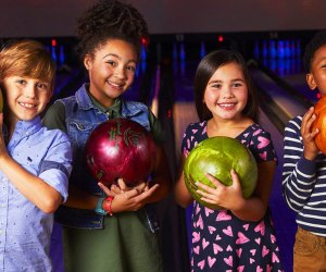 Bowl your way into 2020 with kids at Bowlmor Lanes, open on New Year's Day.