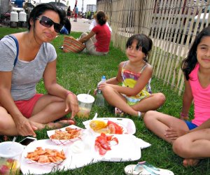 Enjoy FREE fun and tasty seafood at the Bradley Beach Lobsterfest. Photo courtesy of the festival