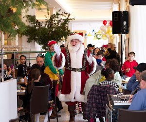Meet Santa and his elves at Stella 34 Trattoria in Midtown.