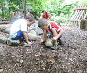 Unearth the natural world at a Briar Bush Nature Center camp.