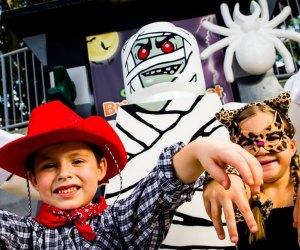 Every weekend in October, Legoland Florida celebrates its annual Brick or Treat event. Photo courtesy of Legoland
