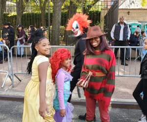 Get in costume to strut your stuff at the annual Bronx Halloween Parade. Photo courtesy of the parade organizers