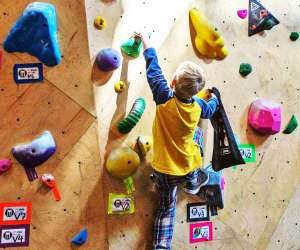 The Best Indoor Birthday Party Spots for Chicago Kids: Brooklyn Boulders