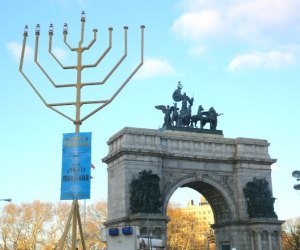 The World's Largest Hanukkah Menorah: Brooklyn