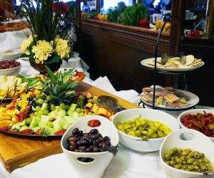Pantagis Farms offers a gorgeous brunch spread.