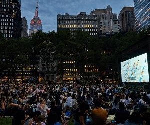 Bryant Park's uber popular summer movie nights are set for a late-summer return. Photo by Angelito Jusay/courtesy of the park