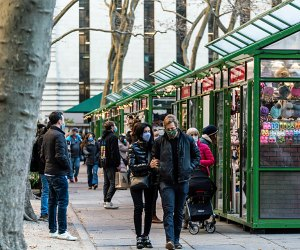 Holiday Shops at Bank of America Winter Village in Bryant Park