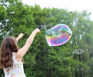 Enjoy the Bubble Magic. Photo by Maxime Bhm/Unsplash