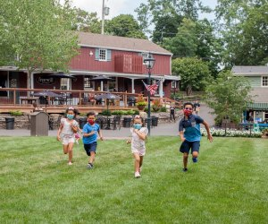 Discover the  storybook village of Peddler's Village with colonial-style buildings, award-winning gardens, shopping, dining, and lodging. Photo courtesy of Peddler's Village