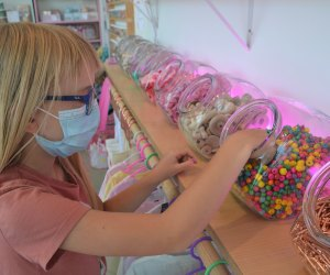 The New Meri Cherry Drop-in Art Shop Is Open: It's like a candy shop for art!