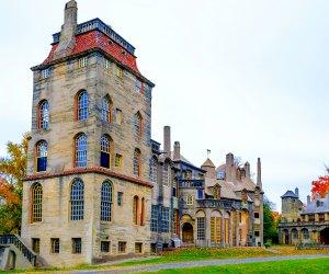 exterior shot of Fonthill Castle
