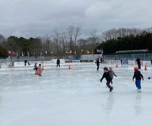 Buckskill offers a wide array of family activities including public ice skating and skate rentals.