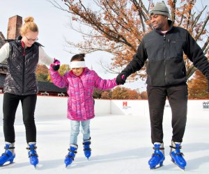 Outdoor skating kicks off at Winterfest Hartford at Bushnell Park. Photo by Andy Hart