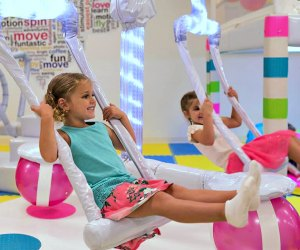 Swing into some indoor fun in the DC area. Photo from BusyBees Chevy Chase
