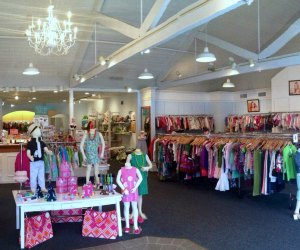 Buttons and Bows is spacious, yet feels like a special boutique. Photo courtesy of the store