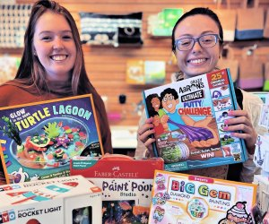 Grab a game or craft kit from Buttonwood Books and Toys.